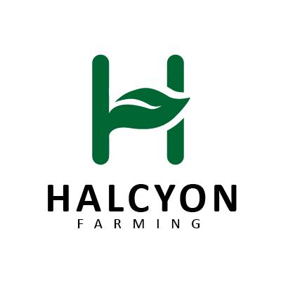 Logo Design by Mbelgedez - Entry No. 69 in the Logo Design Contest Creative Logo Design for Halcyon Farming.