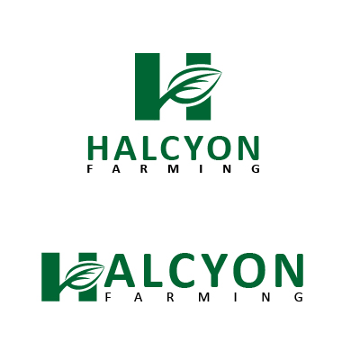 Logo Design by Mbelgedez - Entry No. 70 in the Logo Design Contest Creative Logo Design for Halcyon Farming.