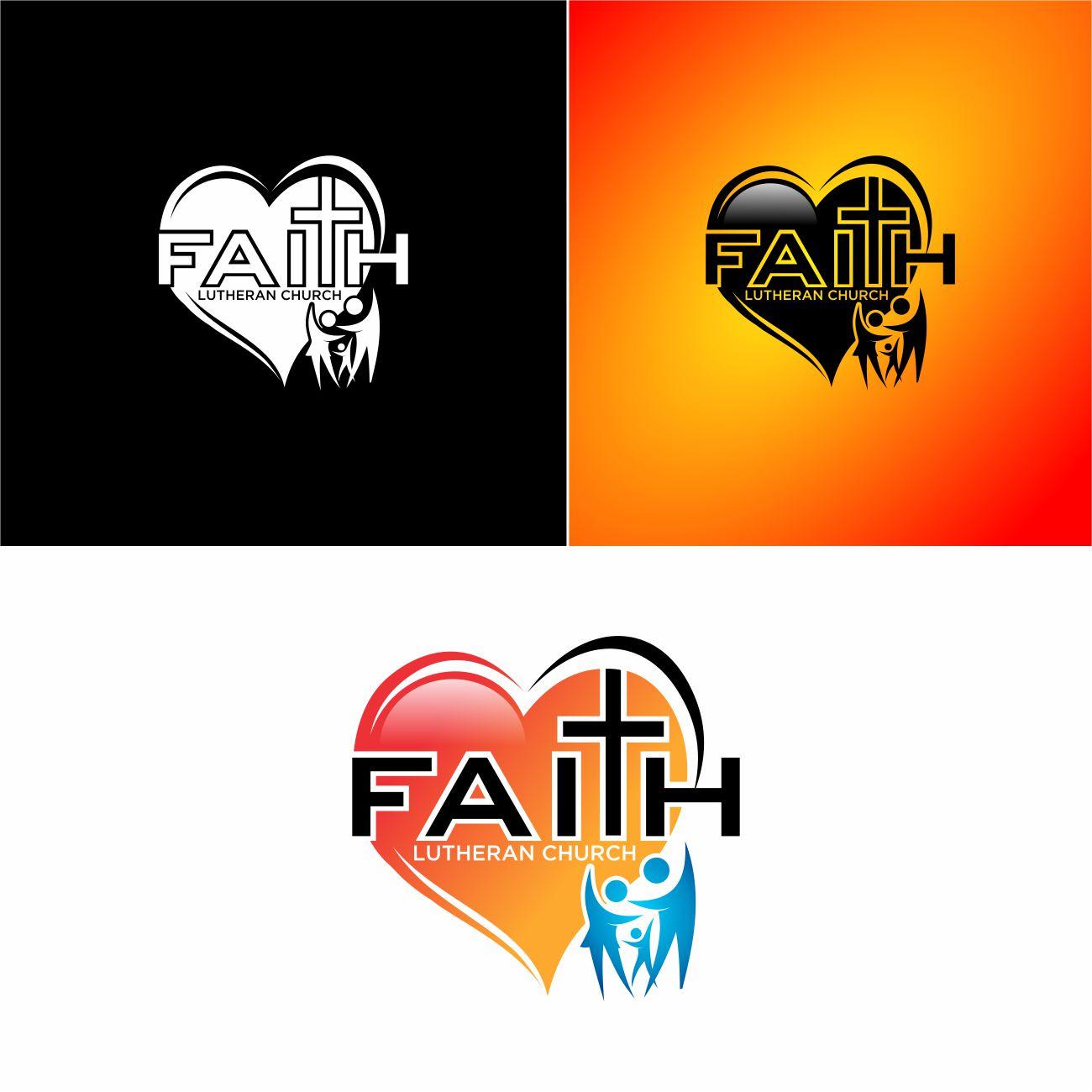 Logo Design by RasYa Muhammad Athaya - Entry No. 230 in the Logo Design Contest Logo Design for Faith Lutheran Church.