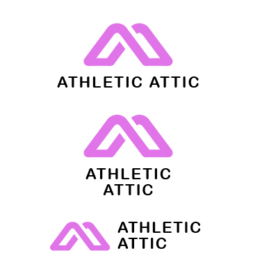 Logo Design by Mbelgedez - Entry No. 81 in the Logo Design Contest Fun Logo Design for Athletic Attic.