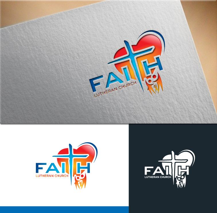 Logo Design by RasYa Muhammad Athaya - Entry No. 234 in the Logo Design Contest Logo Design for Faith Lutheran Church.