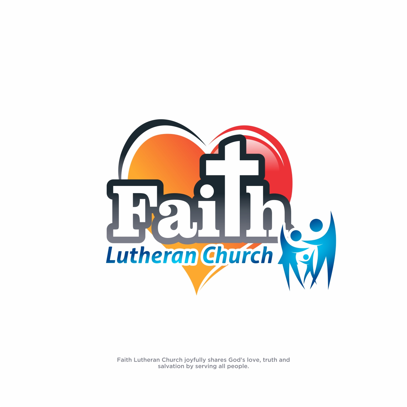 Logo Design by RasYa Muhammad Athaya - Entry No. 248 in the Logo Design Contest Logo Design for Faith Lutheran Church.