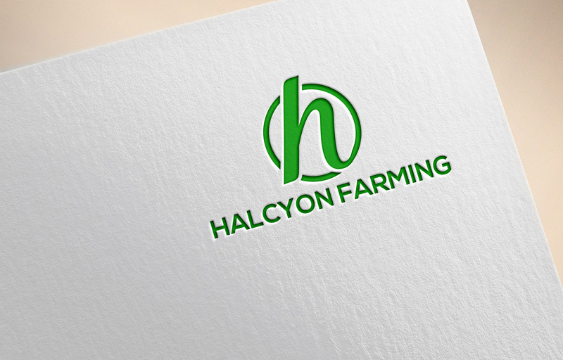 Logo Design by Private User - Entry No. 71 in the Logo Design Contest Creative Logo Design for Halcyon Farming.