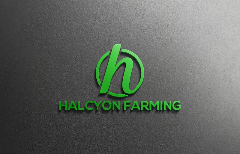 Logo Design by Private User - Entry No. 73 in the Logo Design Contest Creative Logo Design for Halcyon Farming.