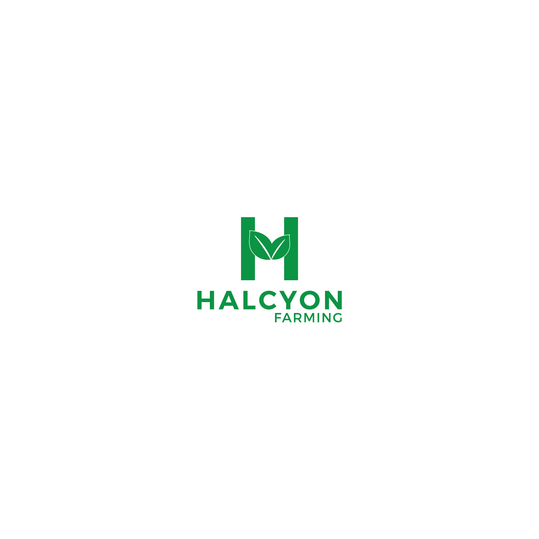 Logo Design by 354studio - Entry No. 79 in the Logo Design Contest Creative Logo Design for Halcyon Farming.