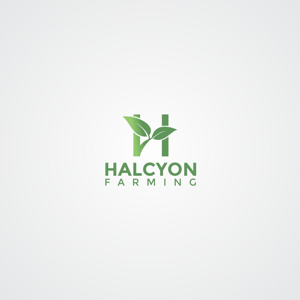 Logo Design by 354studio - Entry No. 80 in the Logo Design Contest Creative Logo Design for Halcyon Farming.