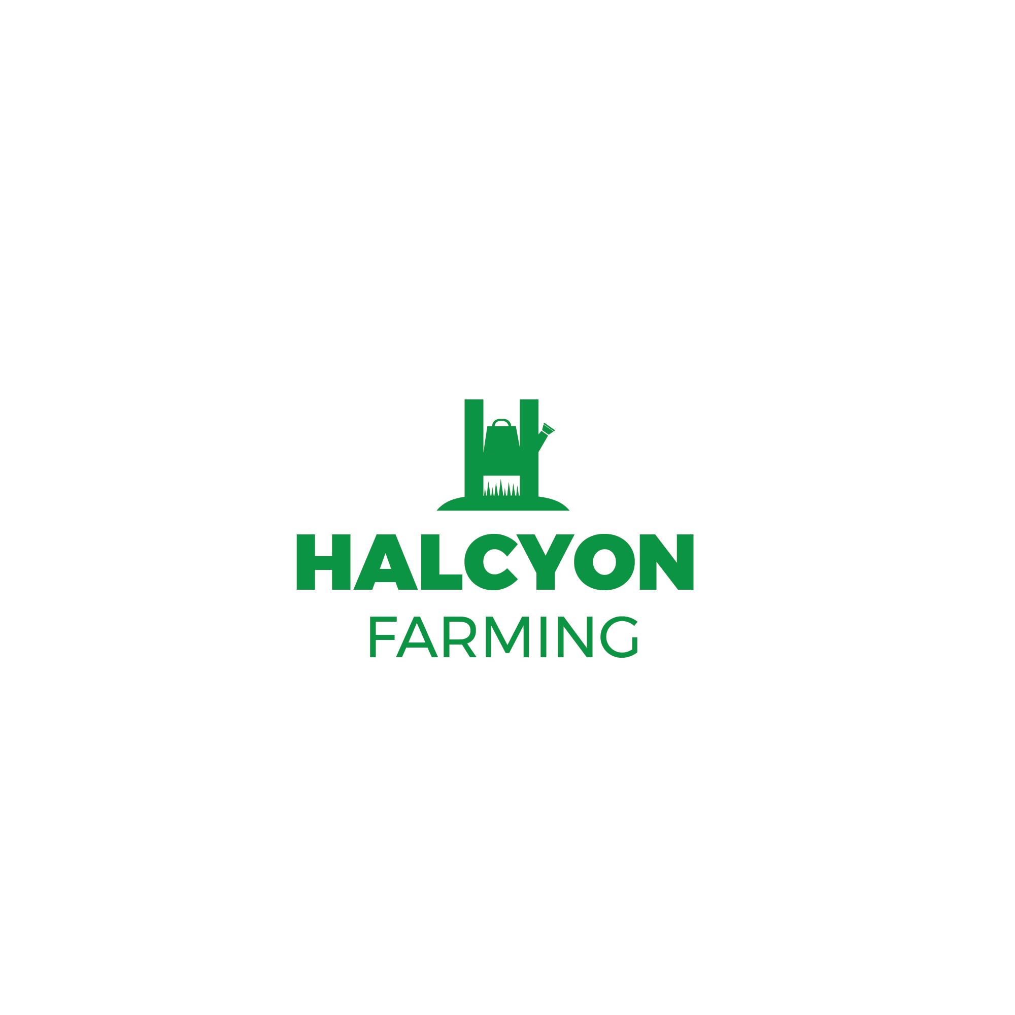 Logo Design by 354studio - Entry No. 81 in the Logo Design Contest Creative Logo Design for Halcyon Farming.