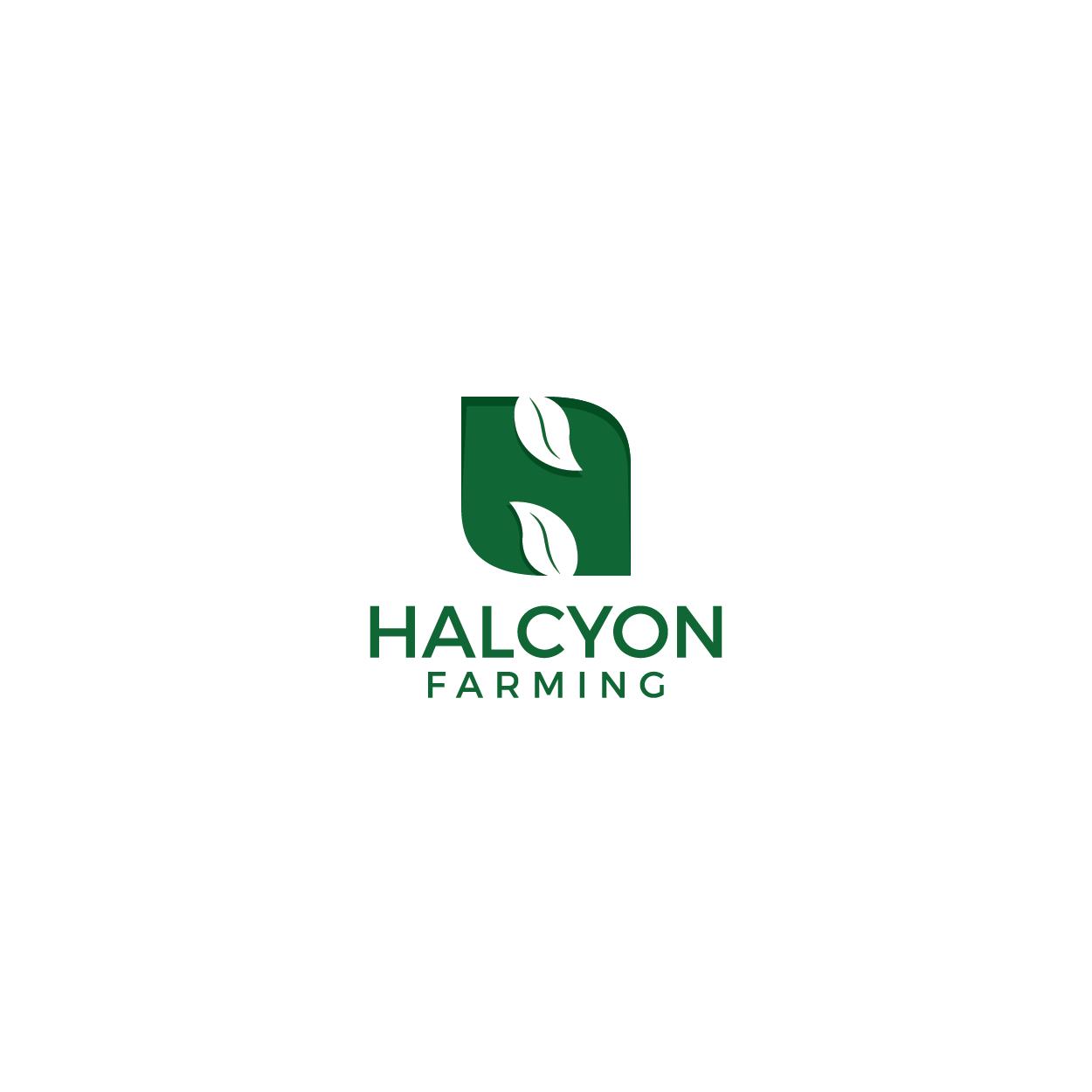 Logo Design by 354studio - Entry No. 82 in the Logo Design Contest Creative Logo Design for Halcyon Farming.