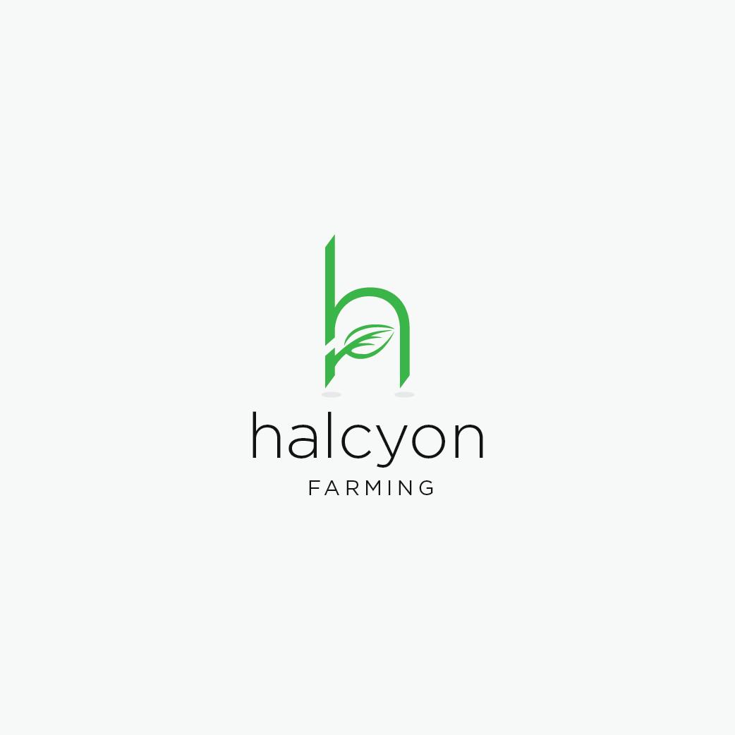 Logo Design by 354studio - Entry No. 83 in the Logo Design Contest Creative Logo Design for Halcyon Farming.
