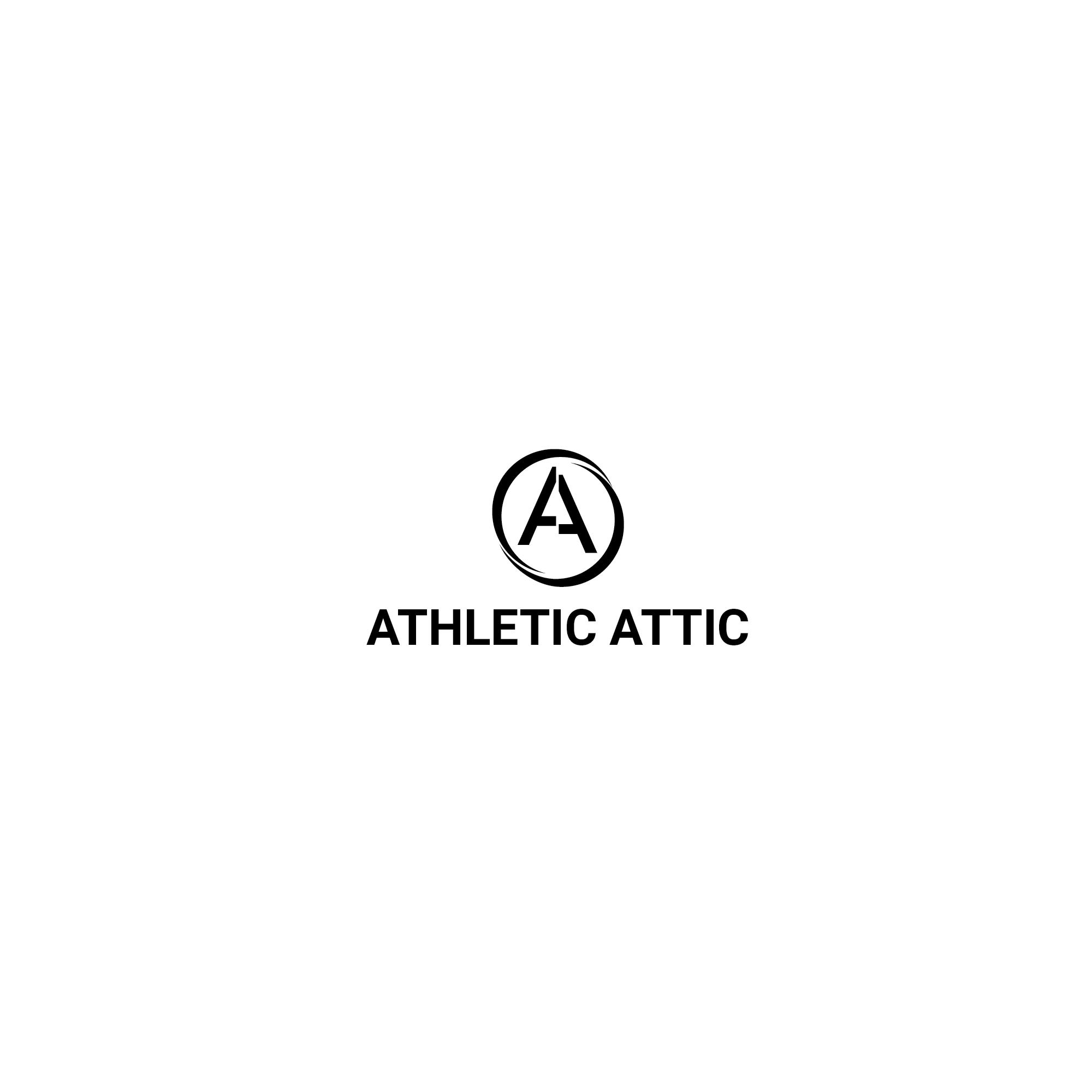 Logo Design by 354studio - Entry No. 93 in the Logo Design Contest Fun Logo Design for Athletic Attic.