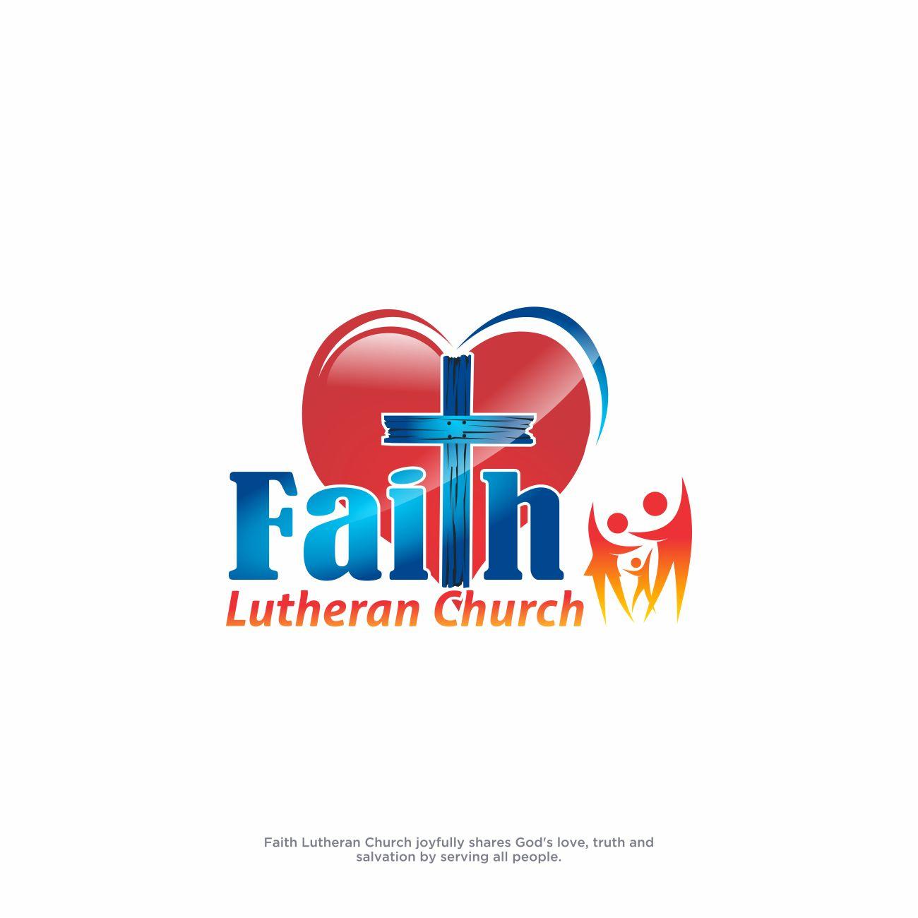 Logo Design by RasYa Muhammad Athaya - Entry No. 255 in the Logo Design Contest Logo Design for Faith Lutheran Church.