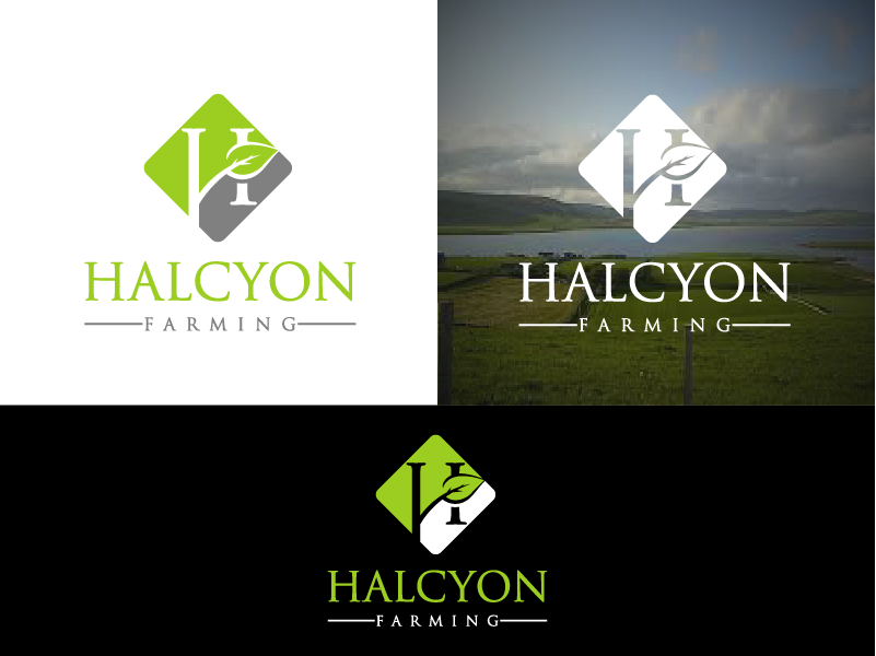 Logo Design by Private User - Entry No. 91 in the Logo Design Contest Creative Logo Design for Halcyon Farming.