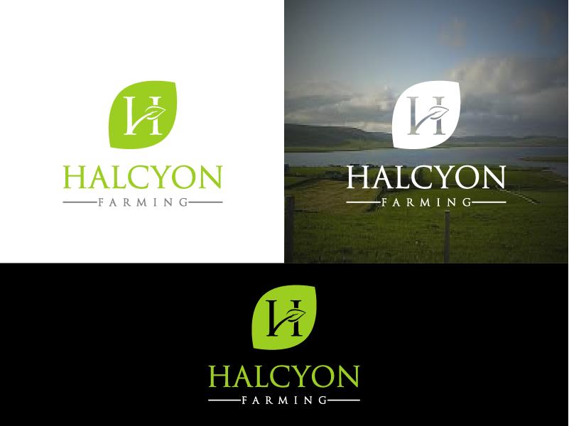 Logo Design by Private User - Entry No. 92 in the Logo Design Contest Creative Logo Design for Halcyon Farming.
