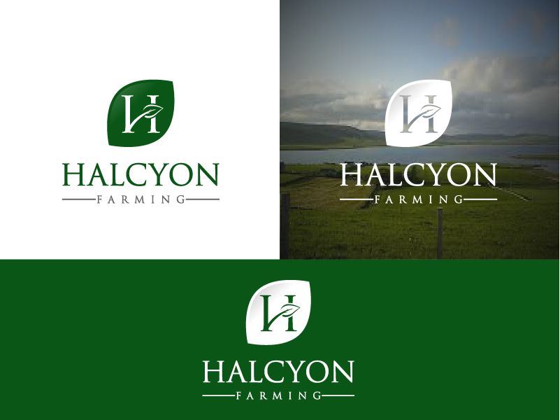 Logo Design by Private User - Entry No. 93 in the Logo Design Contest Creative Logo Design for Halcyon Farming.