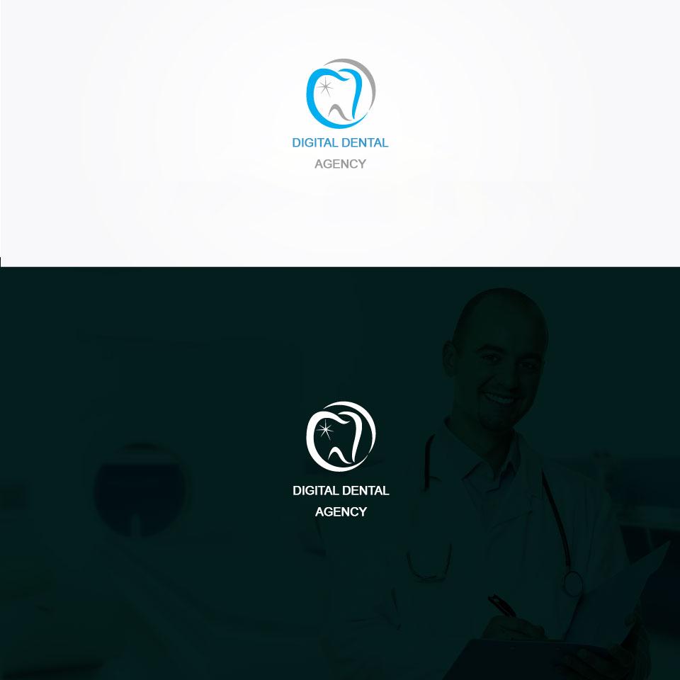 Logo Design by Serhat Doymuş - Entry No. 105 in the Logo Design Contest Imaginative Logo Design for Digital Dental Agency.