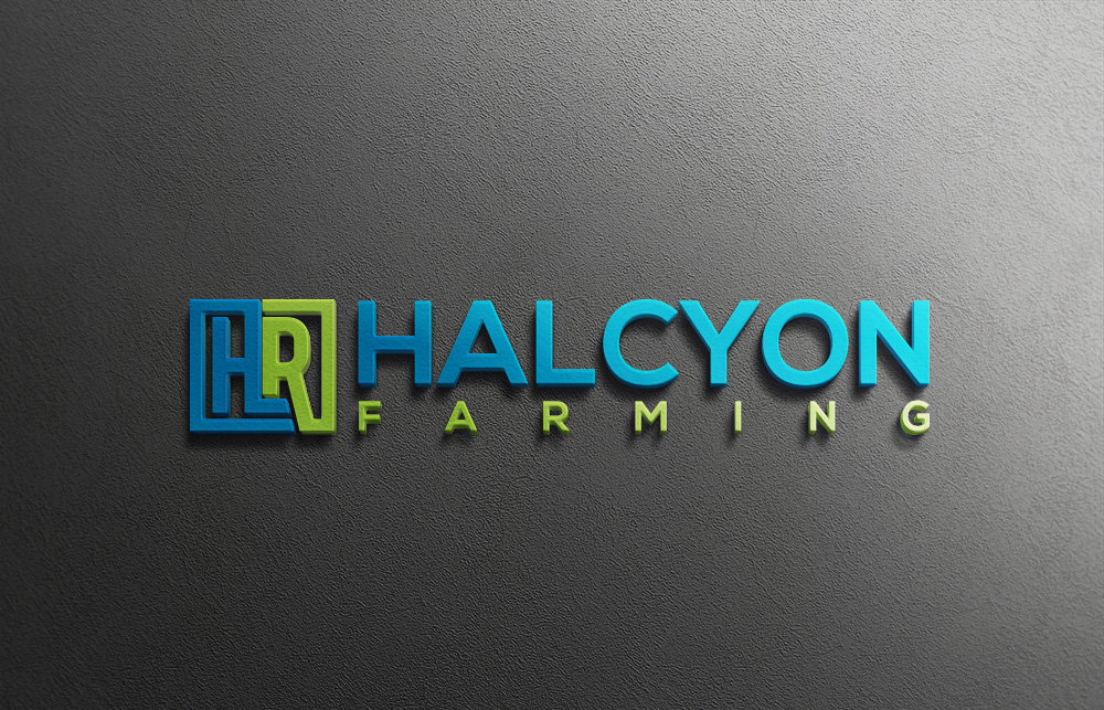 Logo Design by Private User - Entry No. 95 in the Logo Design Contest Creative Logo Design for Halcyon Farming.