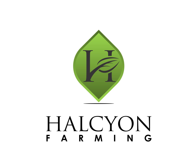 Logo Design by Net Bih - Entry No. 104 in the Logo Design Contest Creative Logo Design for Halcyon Farming.