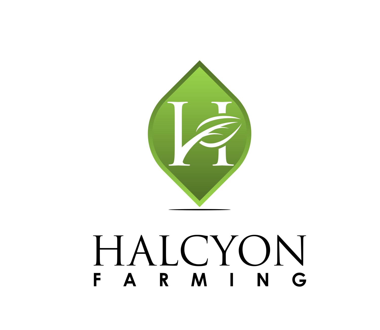 Logo Design by Net Bih - Entry No. 105 in the Logo Design Contest Creative Logo Design for Halcyon Farming.