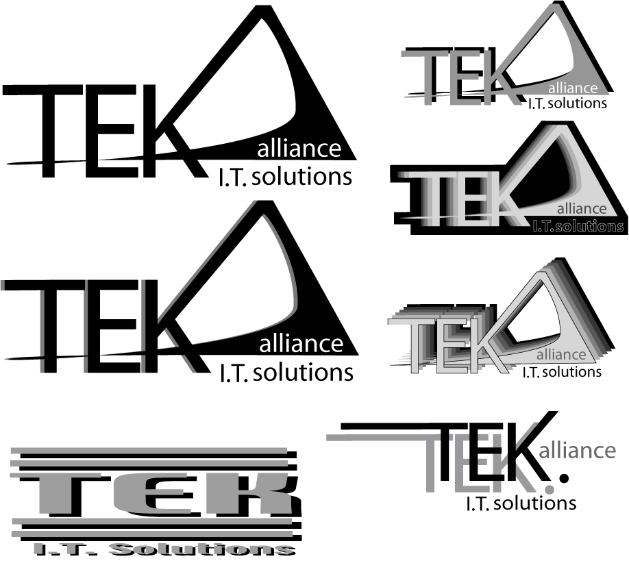 Logo Design by NickHolmesHolmes - Entry No. 22 in the Logo Design Contest TEK Alliance.