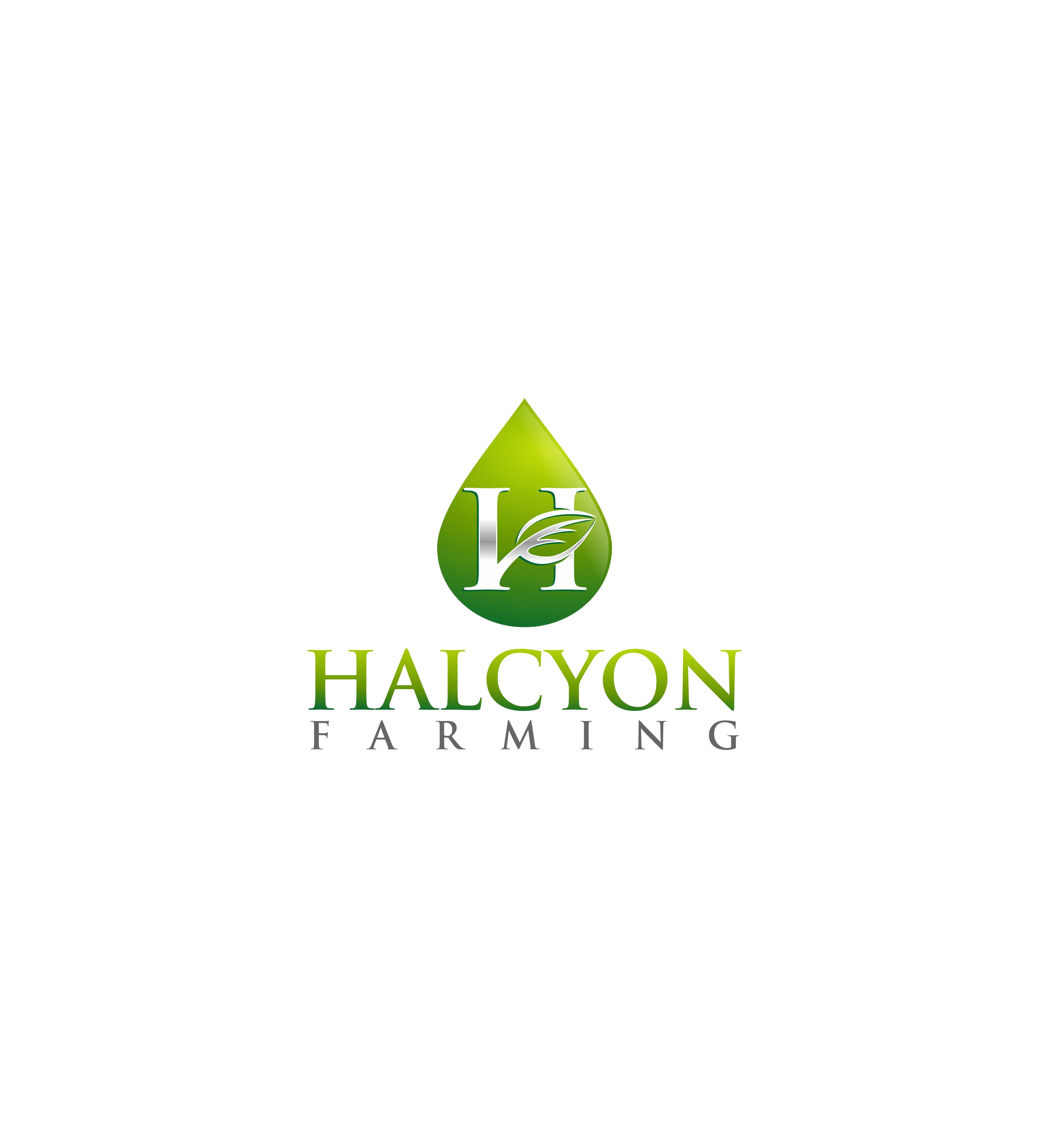 Logo Design by Raymond Garcia - Entry No. 108 in the Logo Design Contest Creative Logo Design for Halcyon Farming.