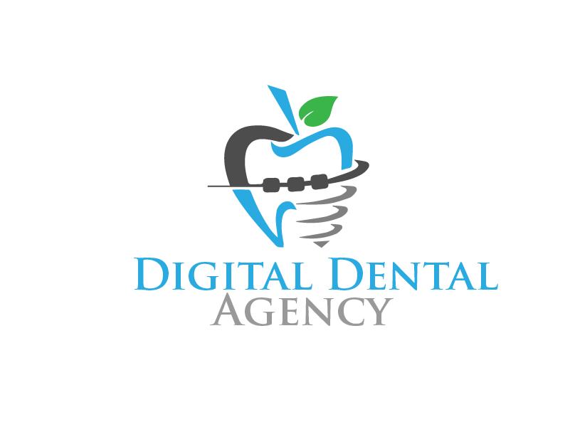 Logo Design by Private User - Entry No. 116 in the Logo Design Contest Imaginative Logo Design for Digital Dental Agency.