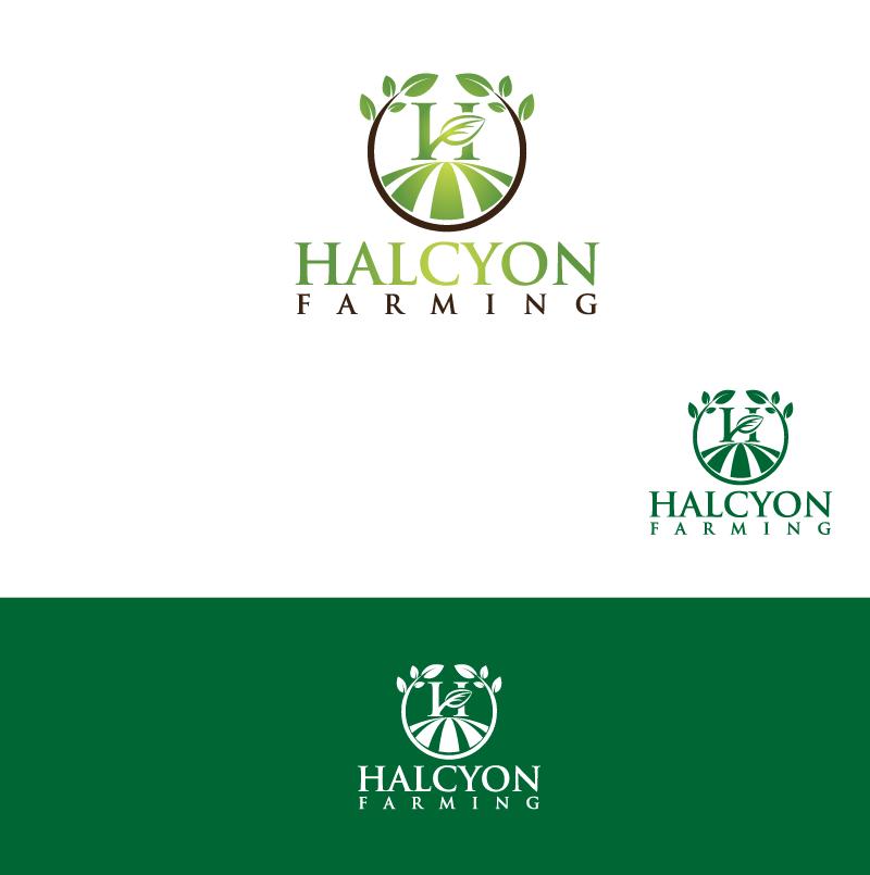 Logo Design by Private User - Entry No. 109 in the Logo Design Contest Creative Logo Design for Halcyon Farming.