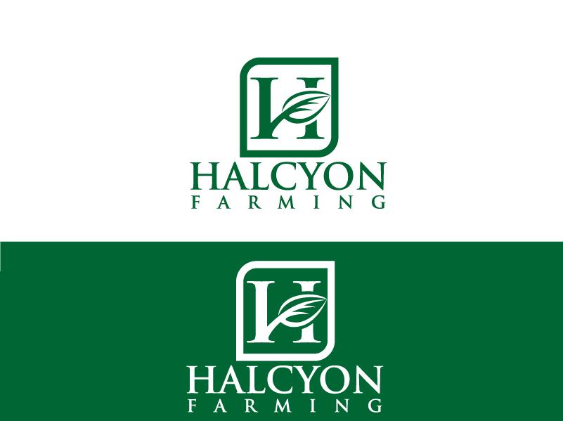 Logo Design by Private User - Entry No. 110 in the Logo Design Contest Creative Logo Design for Halcyon Farming.