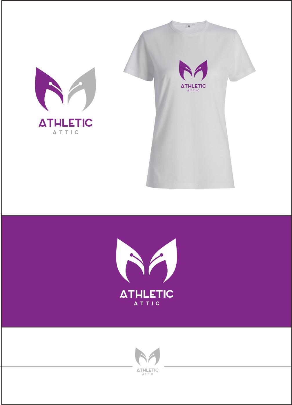 Logo Design by ian69 - Entry No. 109 in the Logo Design Contest Fun Logo Design for Athletic Attic.
