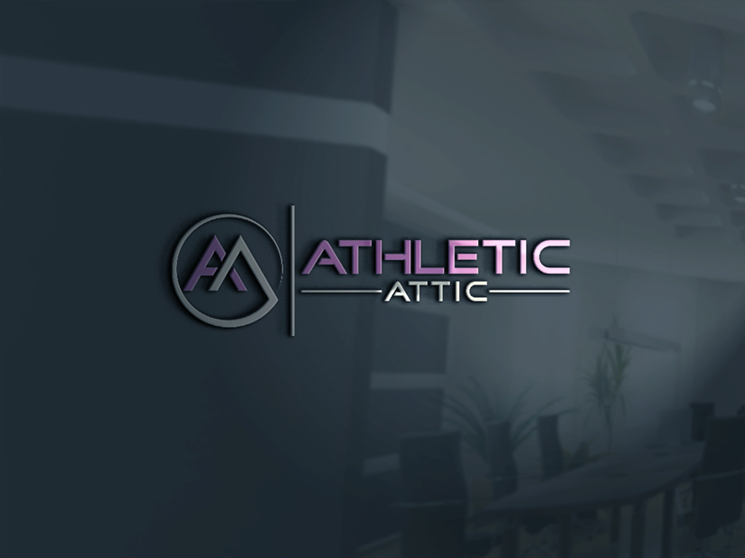 Logo Design by Mohammad azad Hossain - Entry No. 113 in the Logo Design Contest Fun Logo Design for Athletic Attic.