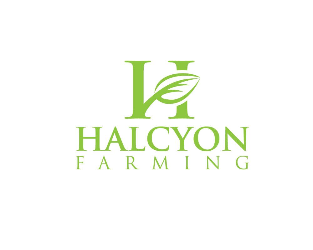 Logo Design by Mohammad azad Hossain - Entry No. 116 in the Logo Design Contest Creative Logo Design for Halcyon Farming.