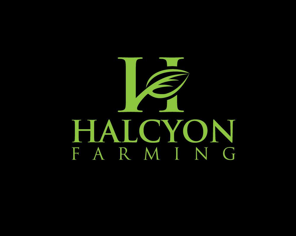 Logo Design by Mohammad azad Hossain - Entry No. 117 in the Logo Design Contest Creative Logo Design for Halcyon Farming.