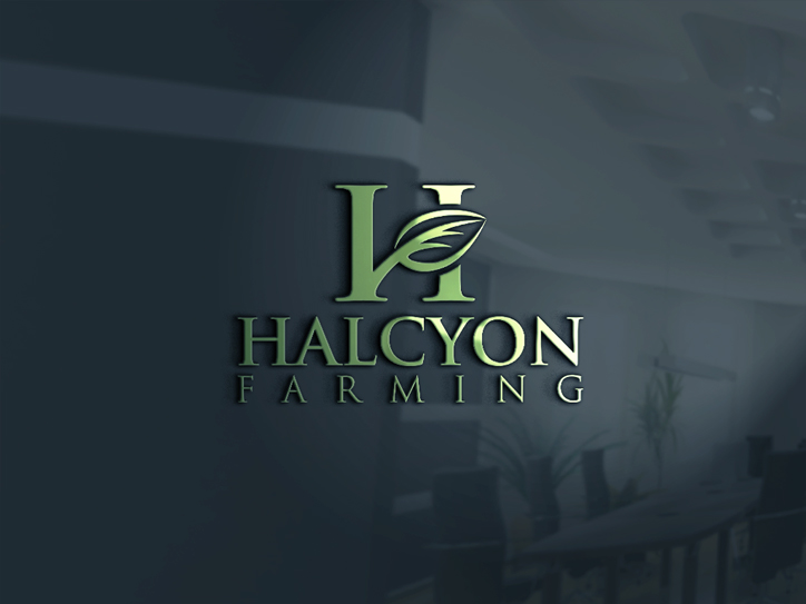 Logo Design by Mohammad azad Hossain - Entry No. 120 in the Logo Design Contest Creative Logo Design for Halcyon Farming.