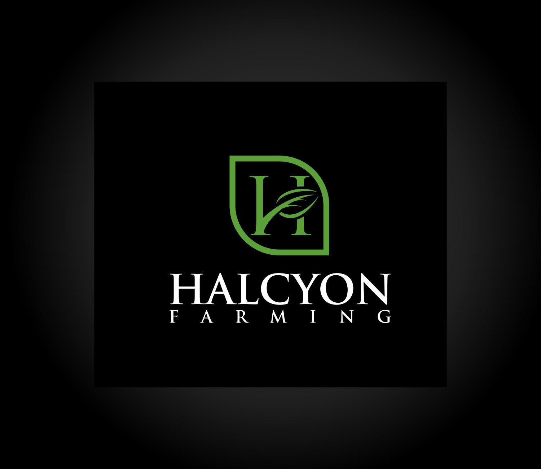 Logo Design by Net Bih - Entry No. 123 in the Logo Design Contest Creative Logo Design for Halcyon Farming.