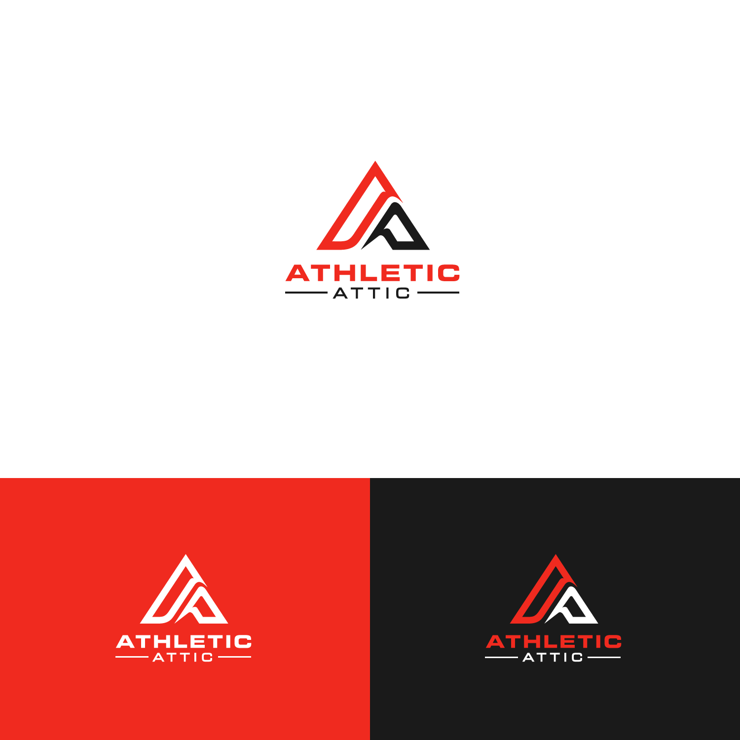 Logo Design by Arslan Chohan - Entry No. 115 in the Logo Design Contest Fun Logo Design for Athletic Attic.