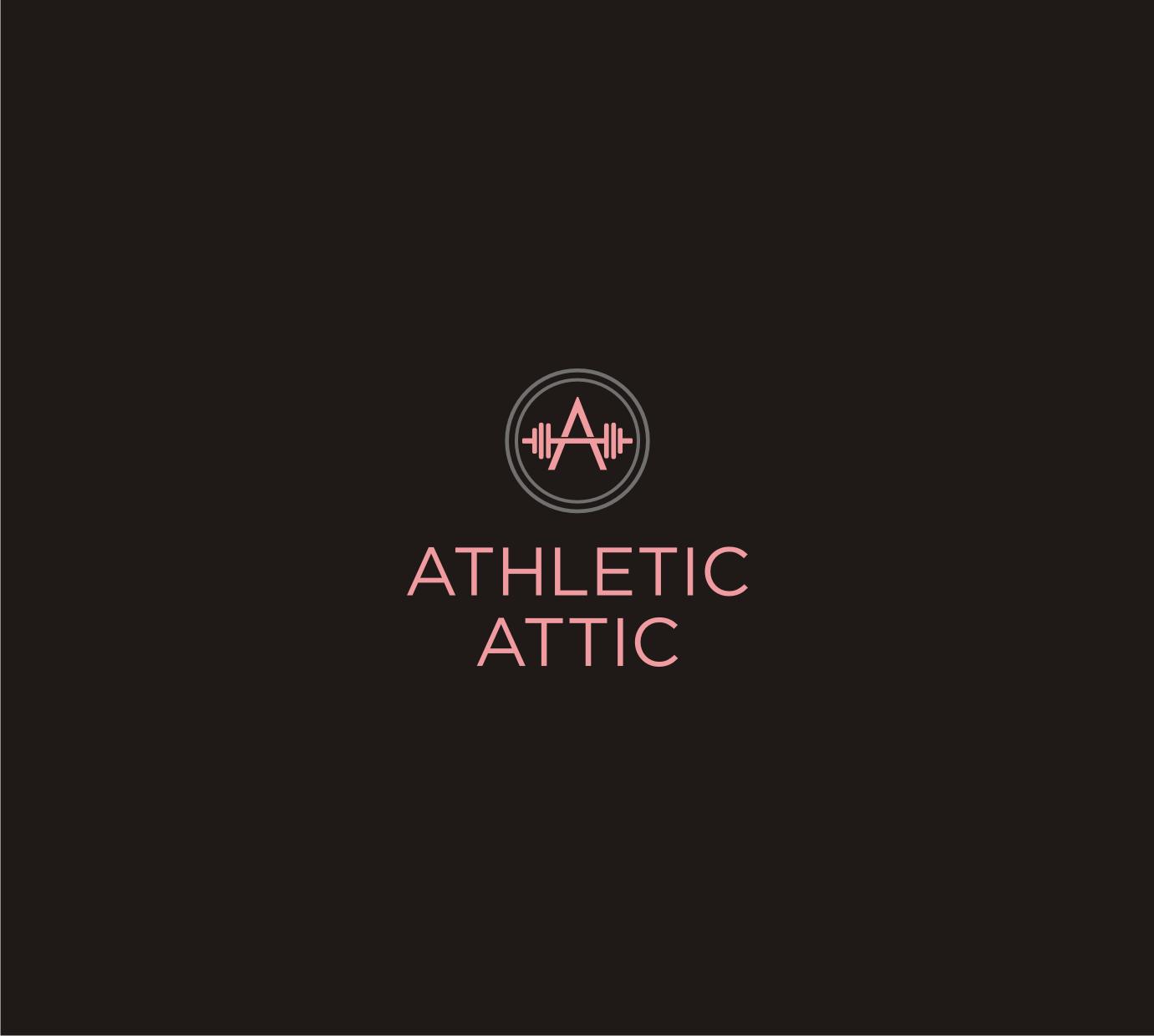 Logo Design by Sigitumarali Sigit - Entry No. 126 in the Logo Design Contest Fun Logo Design for Athletic Attic.