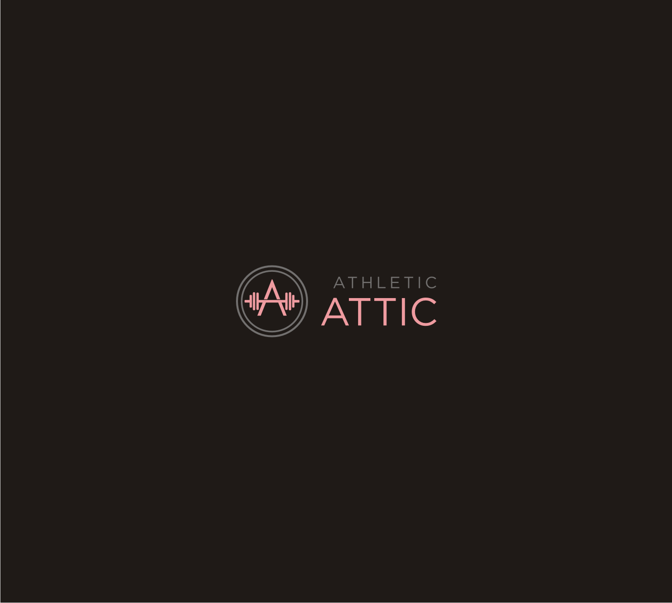 Logo Design by Sigitumarali Sigit - Entry No. 130 in the Logo Design Contest Fun Logo Design for Athletic Attic.
