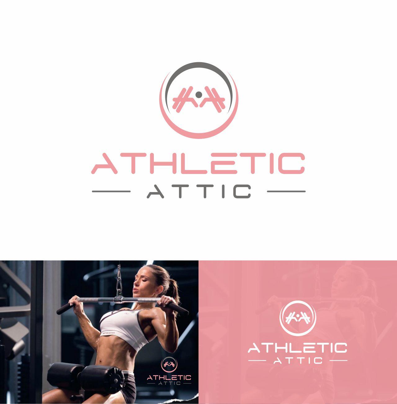 Logo Design by RasYa Muhammad Athaya - Entry No. 135 in the Logo Design Contest Fun Logo Design for Athletic Attic.