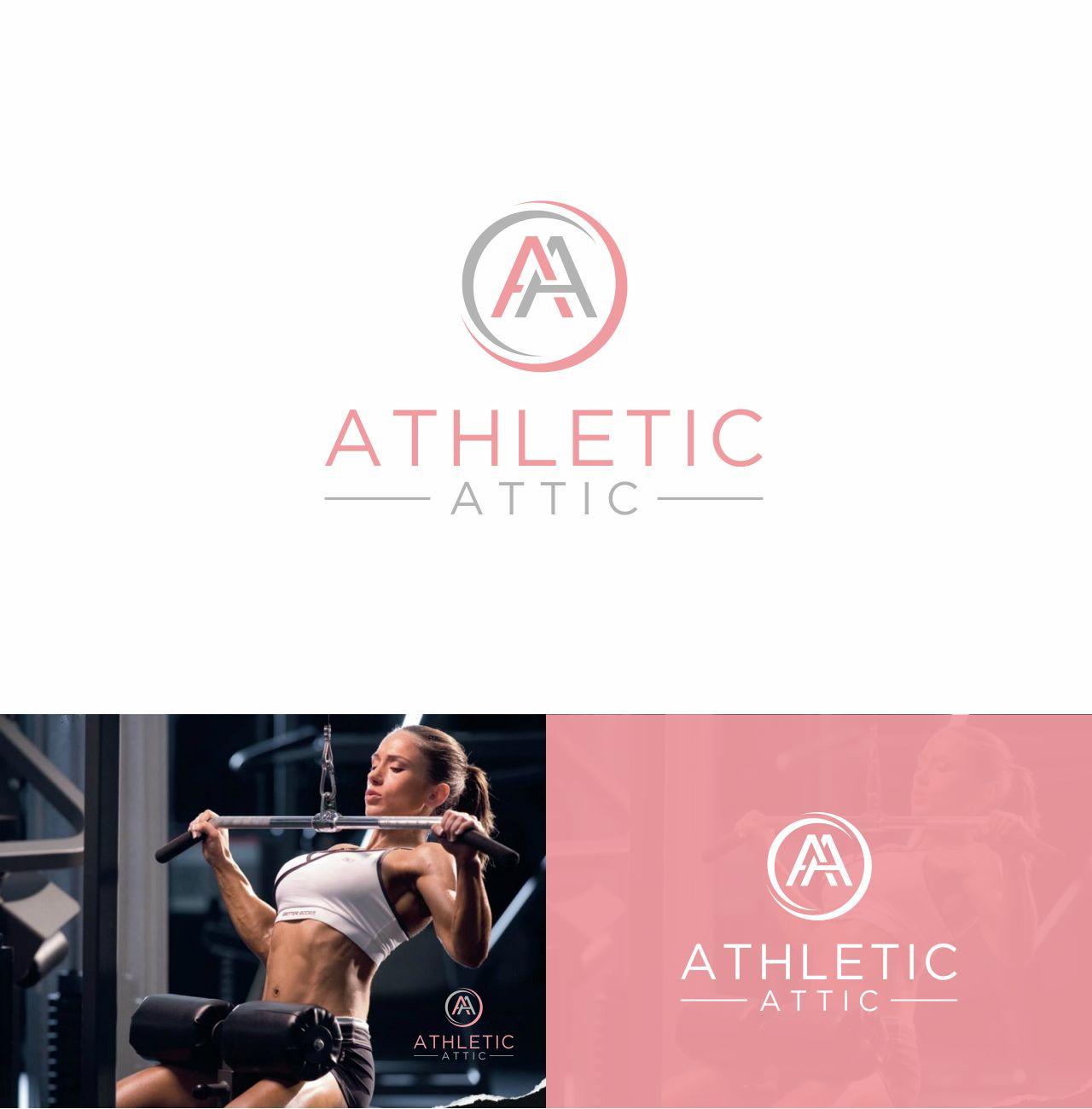 Logo Design by RasYa Muhammad Athaya - Entry No. 136 in the Logo Design Contest Fun Logo Design for Athletic Attic.