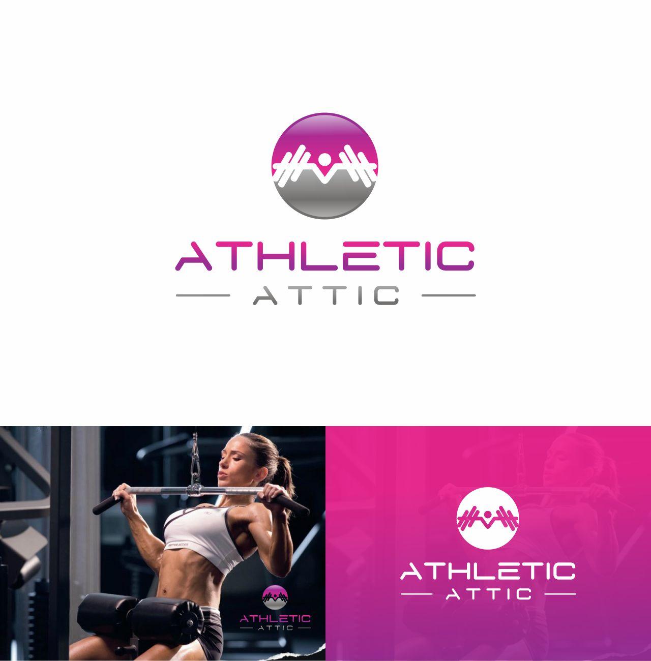 Logo Design by RasYa Muhammad Athaya - Entry No. 138 in the Logo Design Contest Fun Logo Design for Athletic Attic.