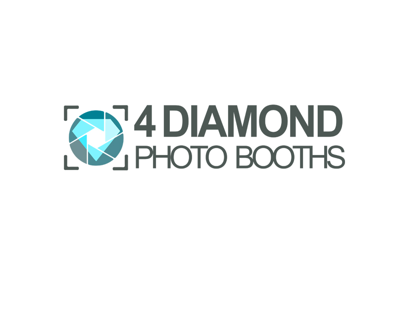 Logo Design by YANUAR ANTABUA - Entry No. 3 in the Logo Design Contest Creative Logo Design for 4 Diamond Photo Booths.