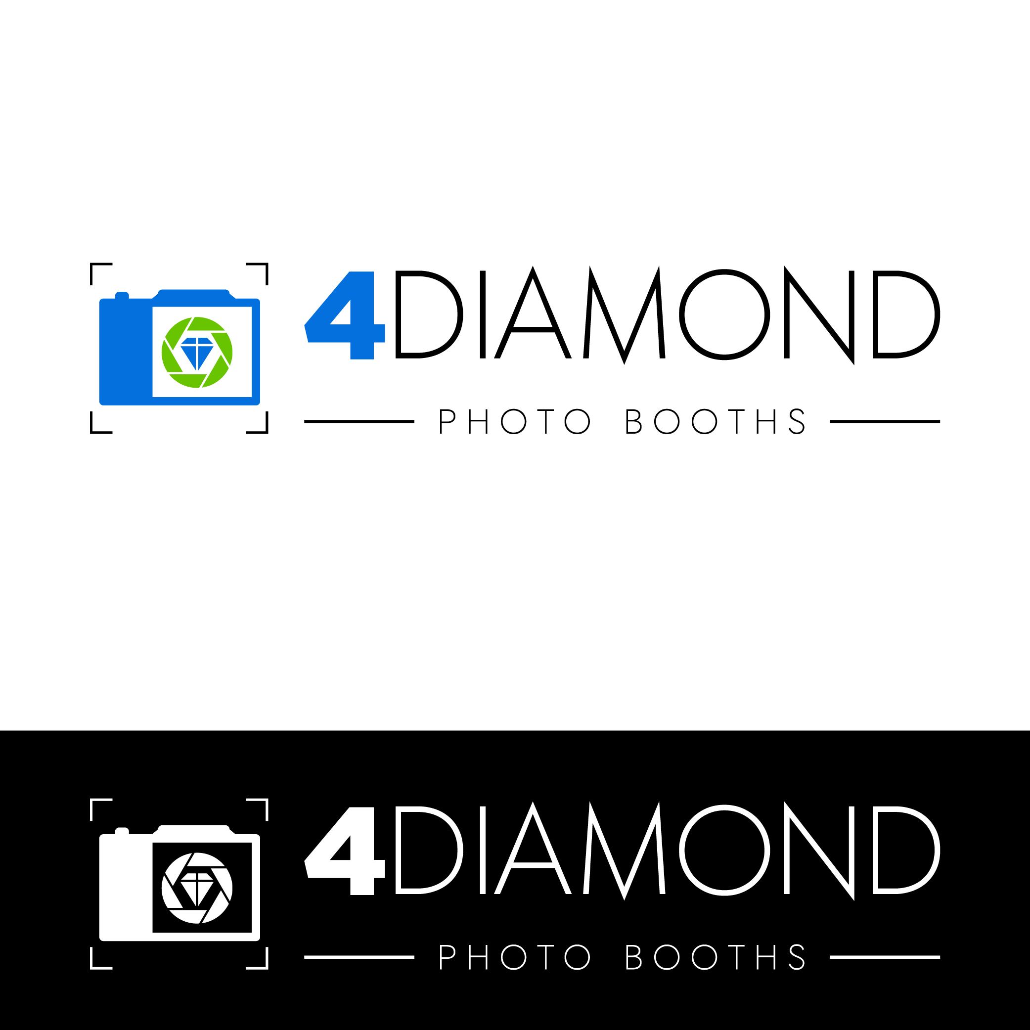 Logo Design by Private User - Entry No. 7 in the Logo Design Contest Creative Logo Design for 4 Diamond Photo Booths.