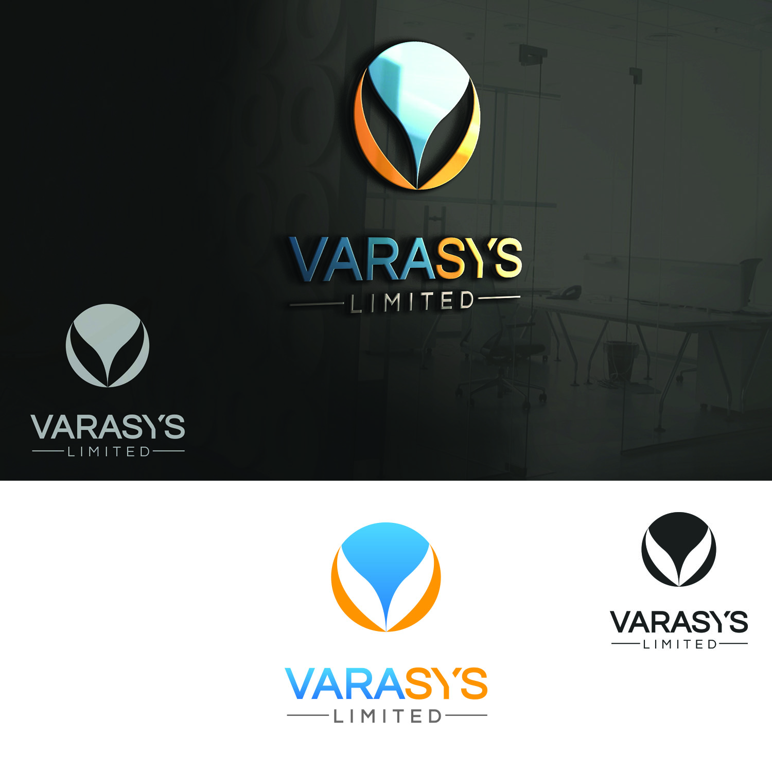 Logo Design by Umair ahmed Iqbal - Entry No. 59 in the Logo Design Contest Artistic Logo Design for VARASYS Limited.