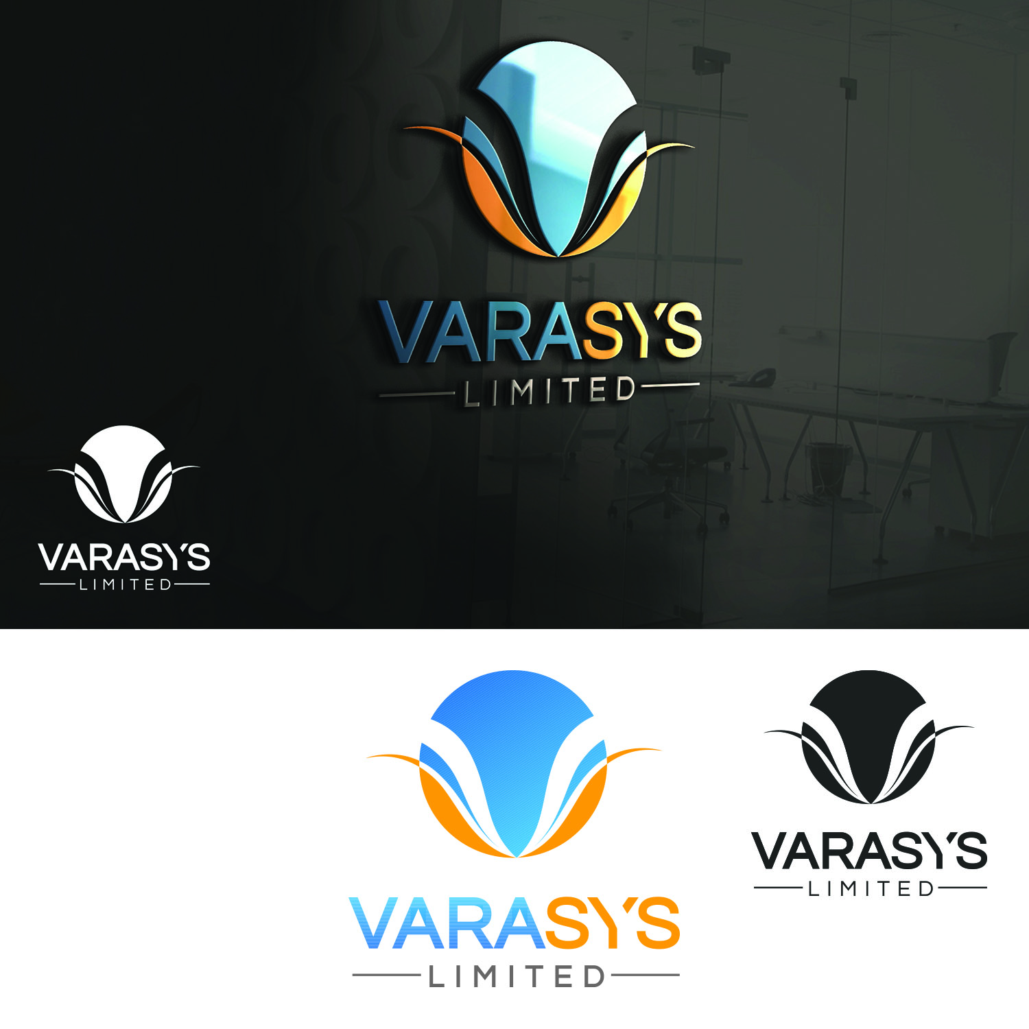 Logo Design by Umair ahmed Iqbal - Entry No. 60 in the Logo Design Contest Artistic Logo Design for VARASYS Limited.