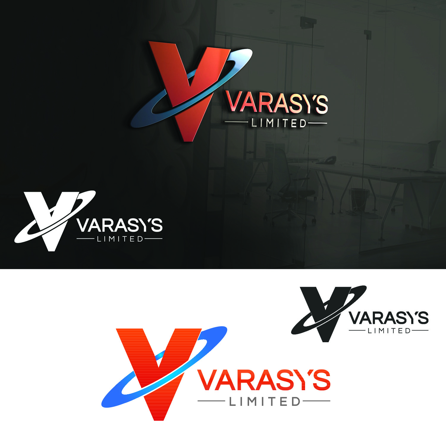 Logo Design by Umair ahmed Iqbal - Entry No. 61 in the Logo Design Contest Artistic Logo Design for VARASYS Limited.