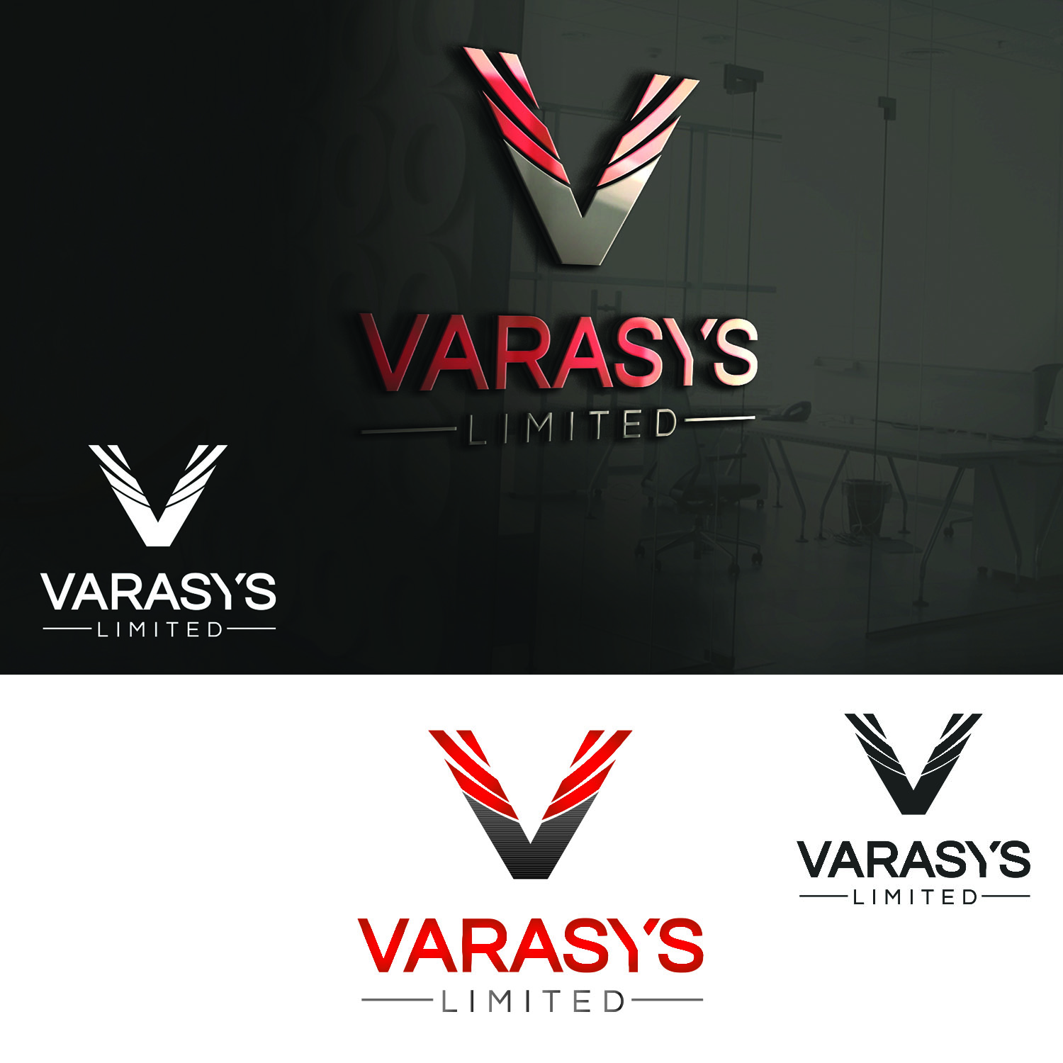 Logo Design by Umair ahmed Iqbal - Entry No. 62 in the Logo Design Contest Artistic Logo Design for VARASYS Limited.