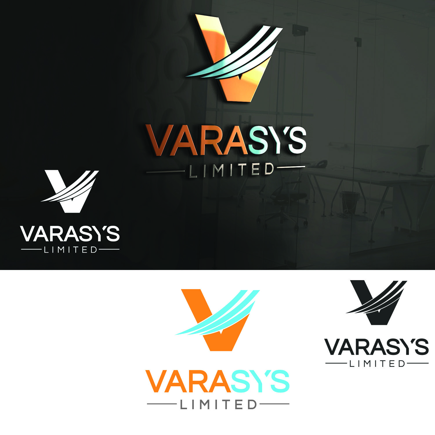 Logo Design by Umair ahmed Iqbal - Entry No. 63 in the Logo Design Contest Artistic Logo Design for VARASYS Limited.