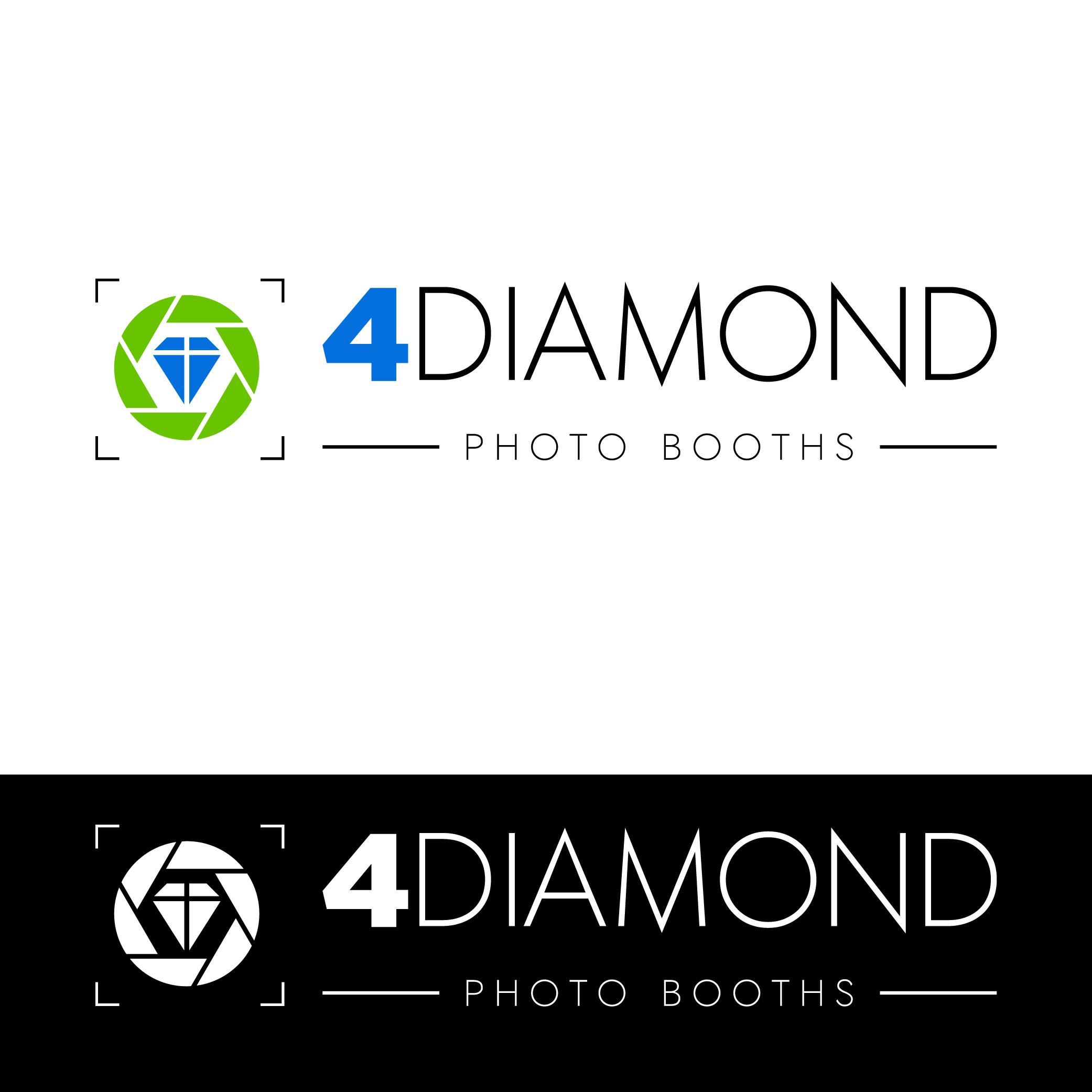 Logo Design by Private User - Entry No. 8 in the Logo Design Contest Creative Logo Design for 4 Diamond Photo Booths.
