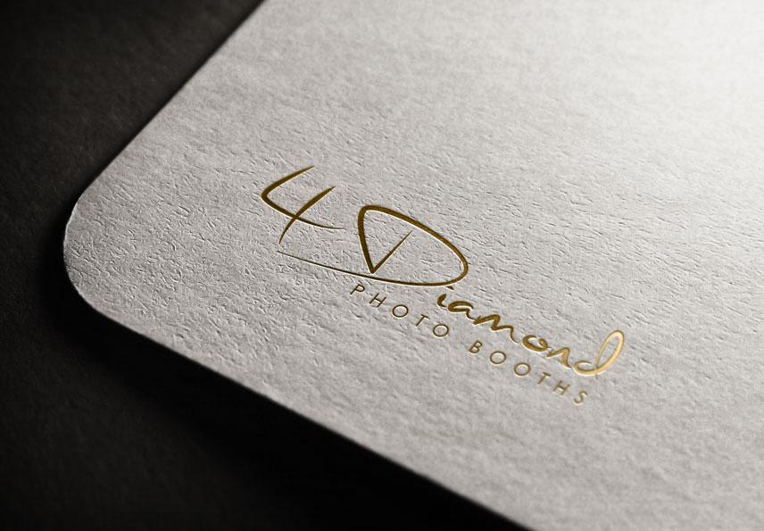 Logo Design by Private User - Entry No. 10 in the Logo Design Contest Creative Logo Design for 4 Diamond Photo Booths.