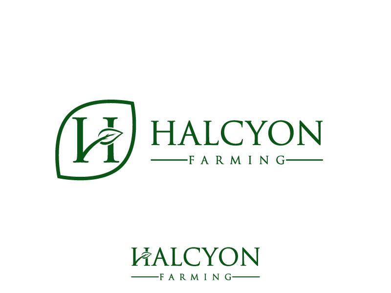 Logo Design by Private User - Entry No. 130 in the Logo Design Contest Creative Logo Design for Halcyon Farming.