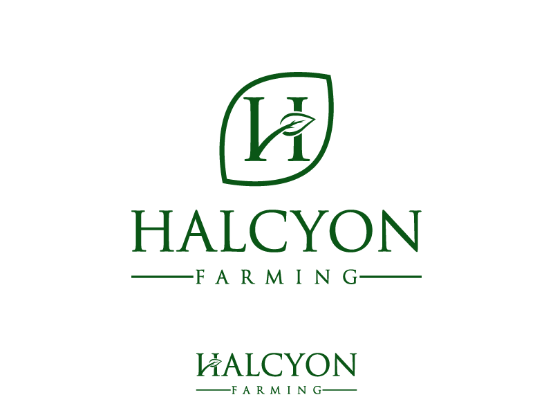 Logo Design by Private User - Entry No. 131 in the Logo Design Contest Creative Logo Design for Halcyon Farming.
